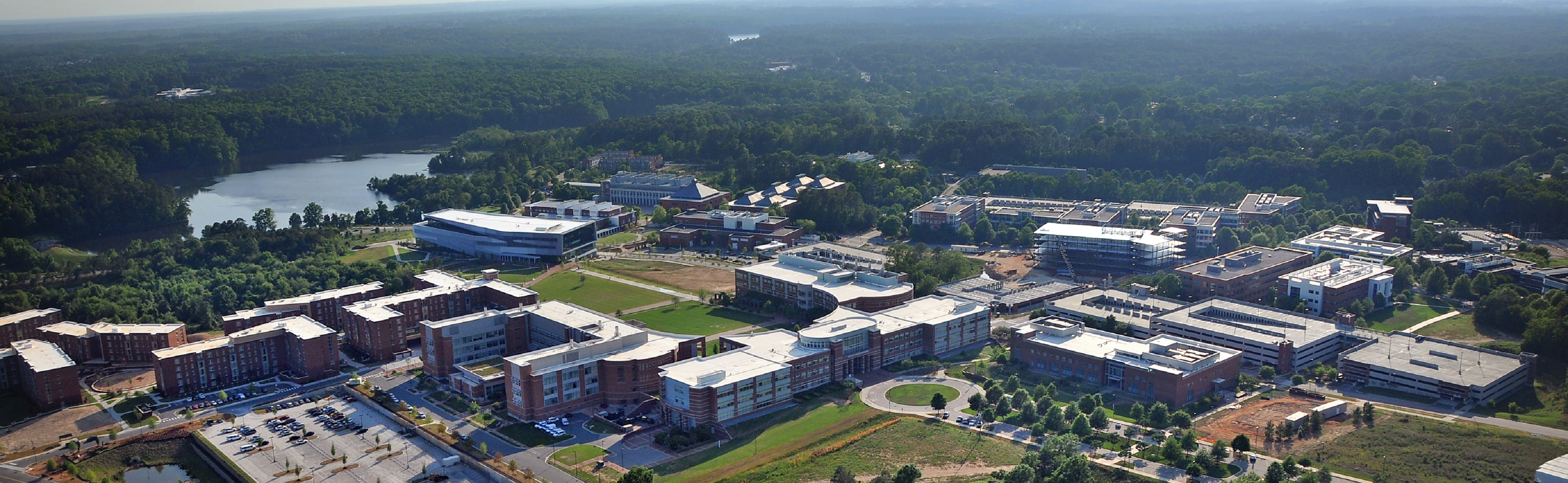Centennial Campus, looking southwest.