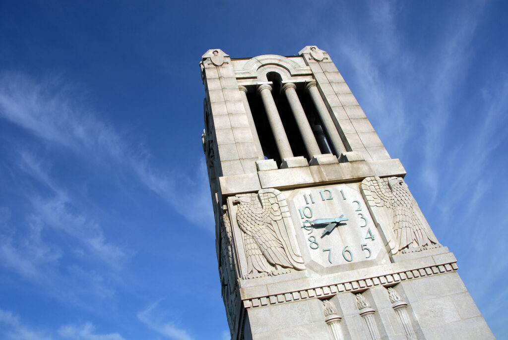 Belltower on a sunny Spring day.